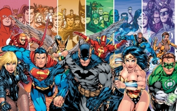 Comics - Justice League Wallpapers and Backgrounds ID : 8391