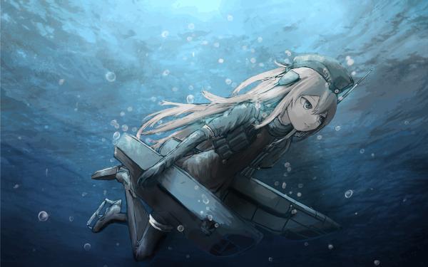 Anime Kantai Collection U-511 HD Wallpaper   Background Image