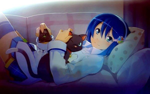 Anime Os-tan Cute Girl HD Wallpaper | Background Image