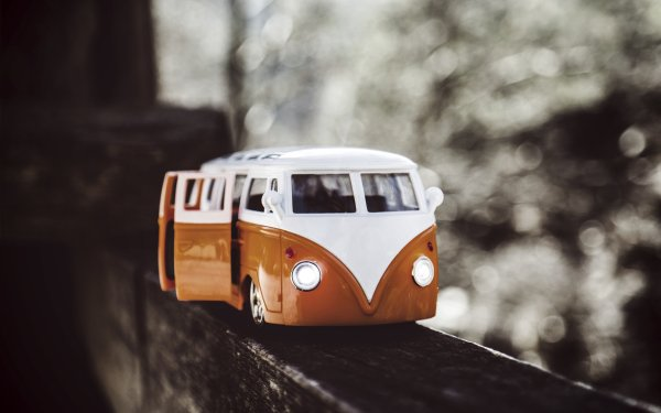 Man Made Toy Van Bokeh Volkswagen HD Wallpaper | Background Image