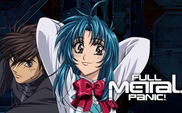 Anime Full Metal Panic! Kaname Chidori Sousuke Sagara HD Wallpaper | Background Image