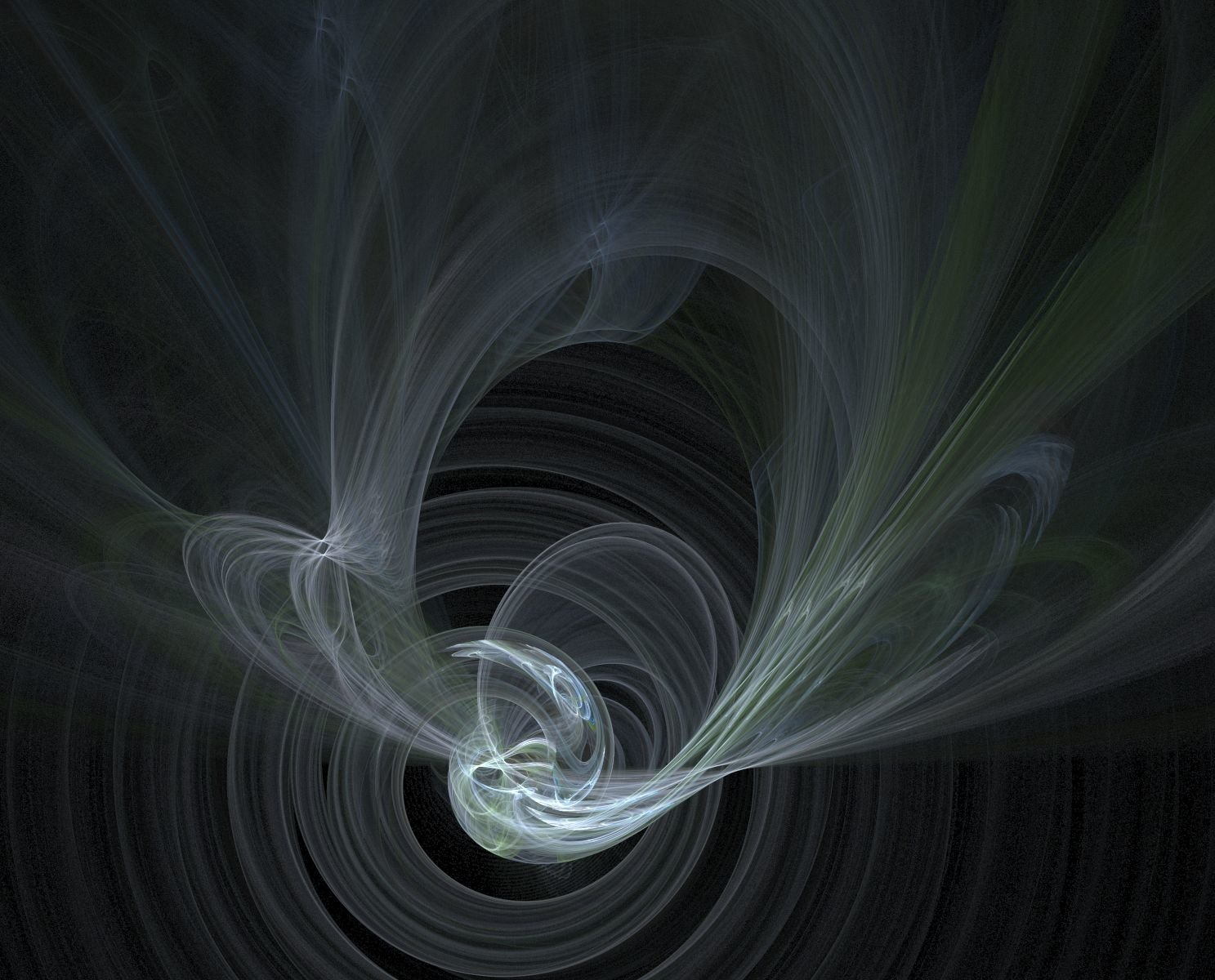 Abstract - Fractal  Abstract CGI Artistic Digital Art Wallpaper