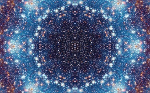 Abstract Pattern Artistic Manipulation Digital Art Mandala Space Galaxy HD Wallpaper | Background Image