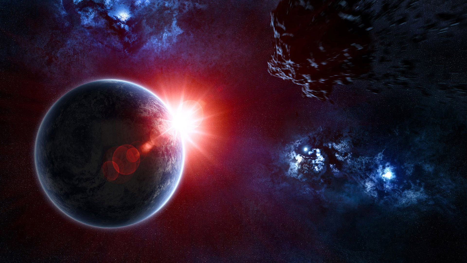 sci fi planet wallpaper - photo #23