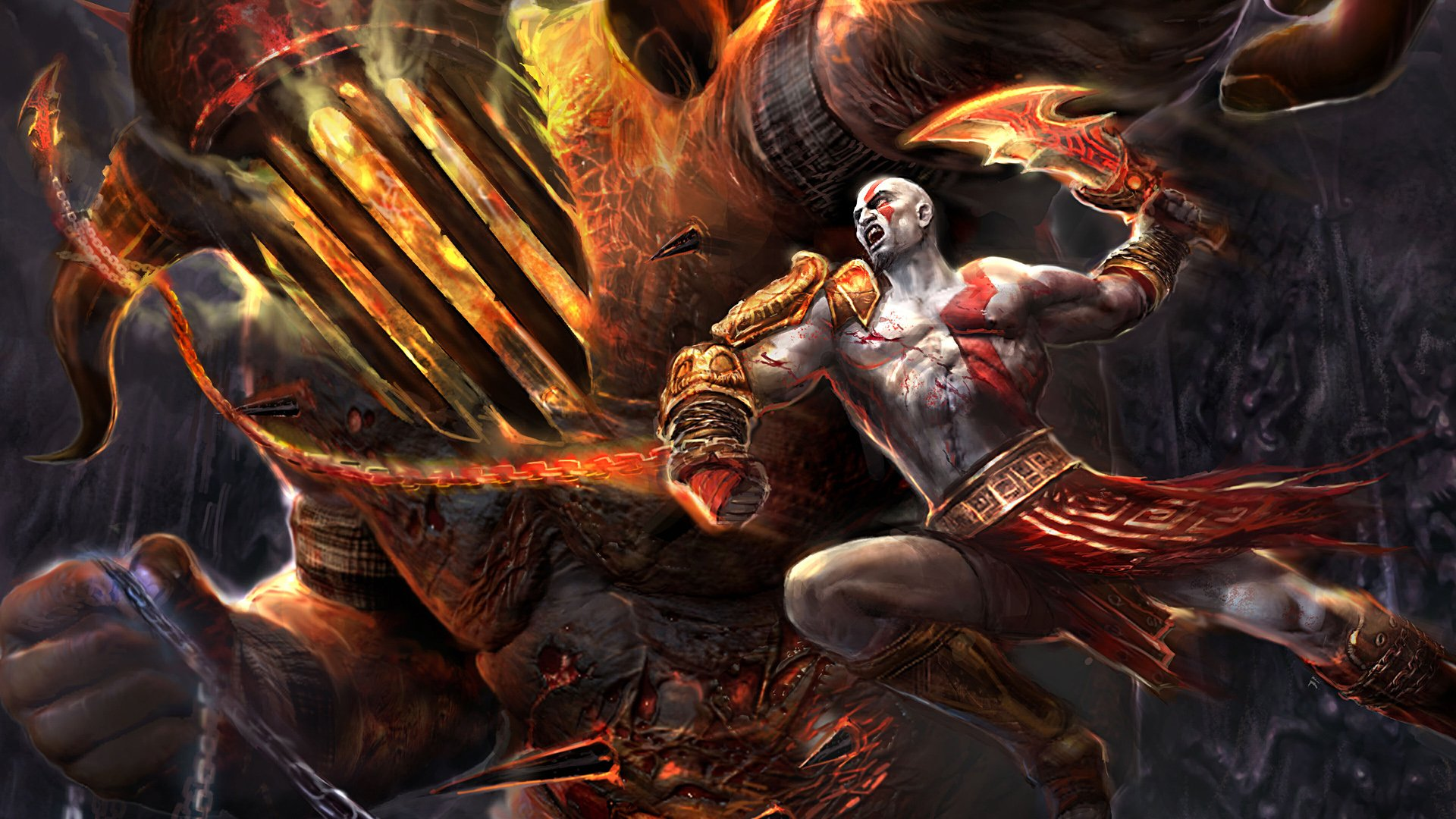 God Of War III Full HD Papel de Parede and Background ...