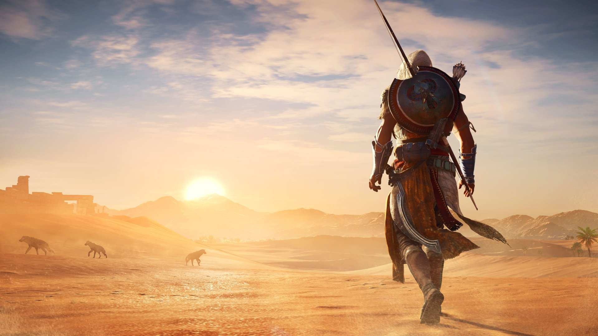 Video Game - Assassin's Creed Origins Bayek Of Siwa Wallpaper