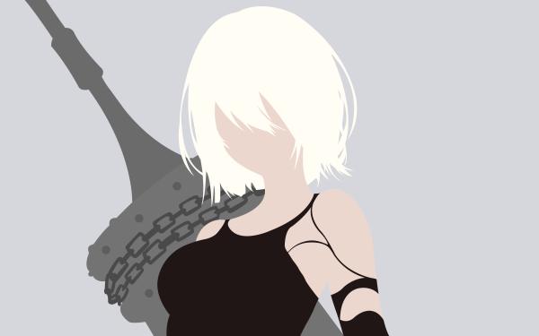 Video Game NieR: Automata YoRHa Type A No.2 HD Wallpaper | Background Image