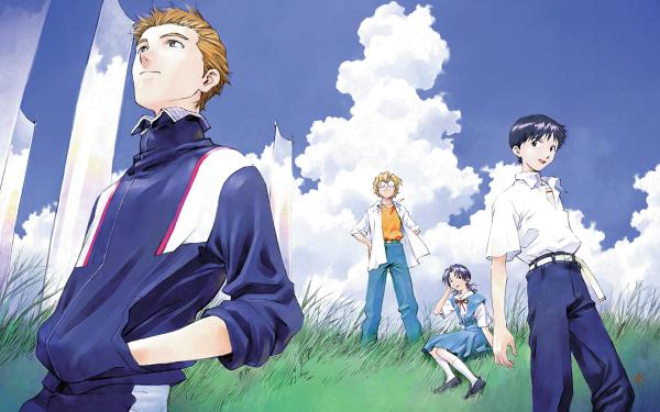 Anime Neon Genesis Evangelion Evangelion Kensuke Aida Hikari Horaki Shinji Ikari Toji Suzuhara HD Wallpaper   Background Image