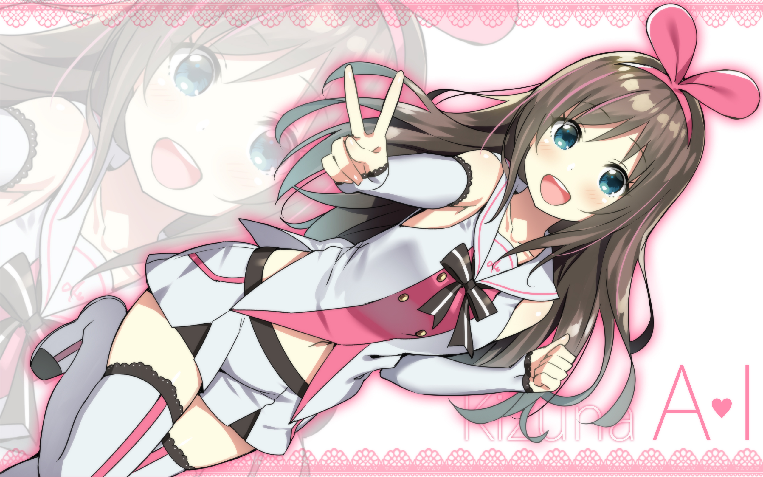 40 Kizuna Ai Hd Wallpapers Background Images Wallpaper Abyss
