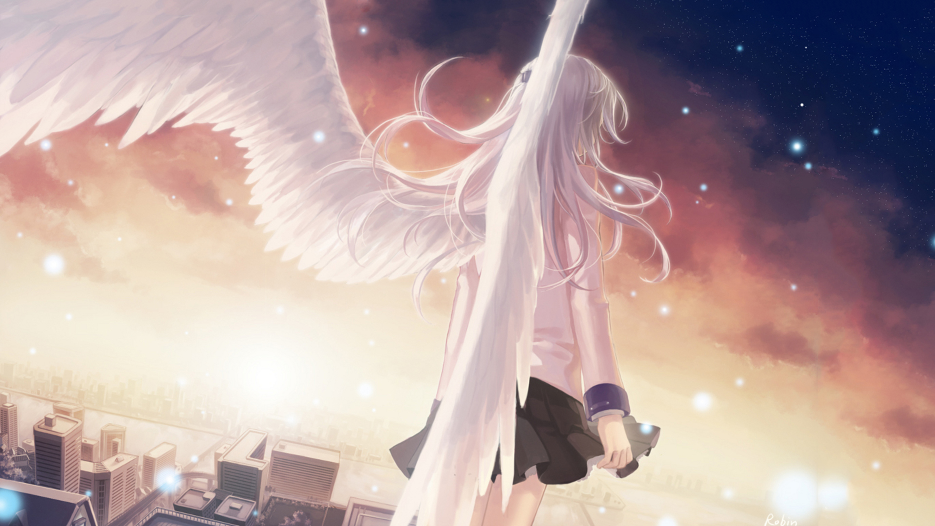 Angel beats full hd wallpaper and background 1920x1080 id848057 anime angel beats wallpaper voltagebd Gallery