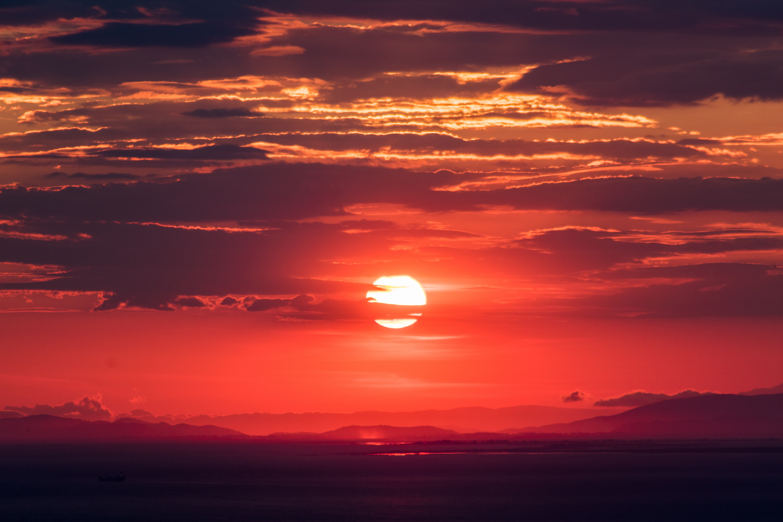 Sunset 5k retina ultra hd wallpaper and background image 6000x4000 earth sunset sun nature sky cloud horizon wallpaper thecheapjerseys Choice Image