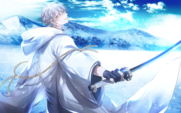 Anime Touken Ranbu Tsurumaru Kuninaga HD Wallpaper | Background Image
