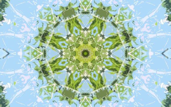 Abstract Pattern Artistic Digital Art Mandala Manipulation HD Wallpaper | Background Image