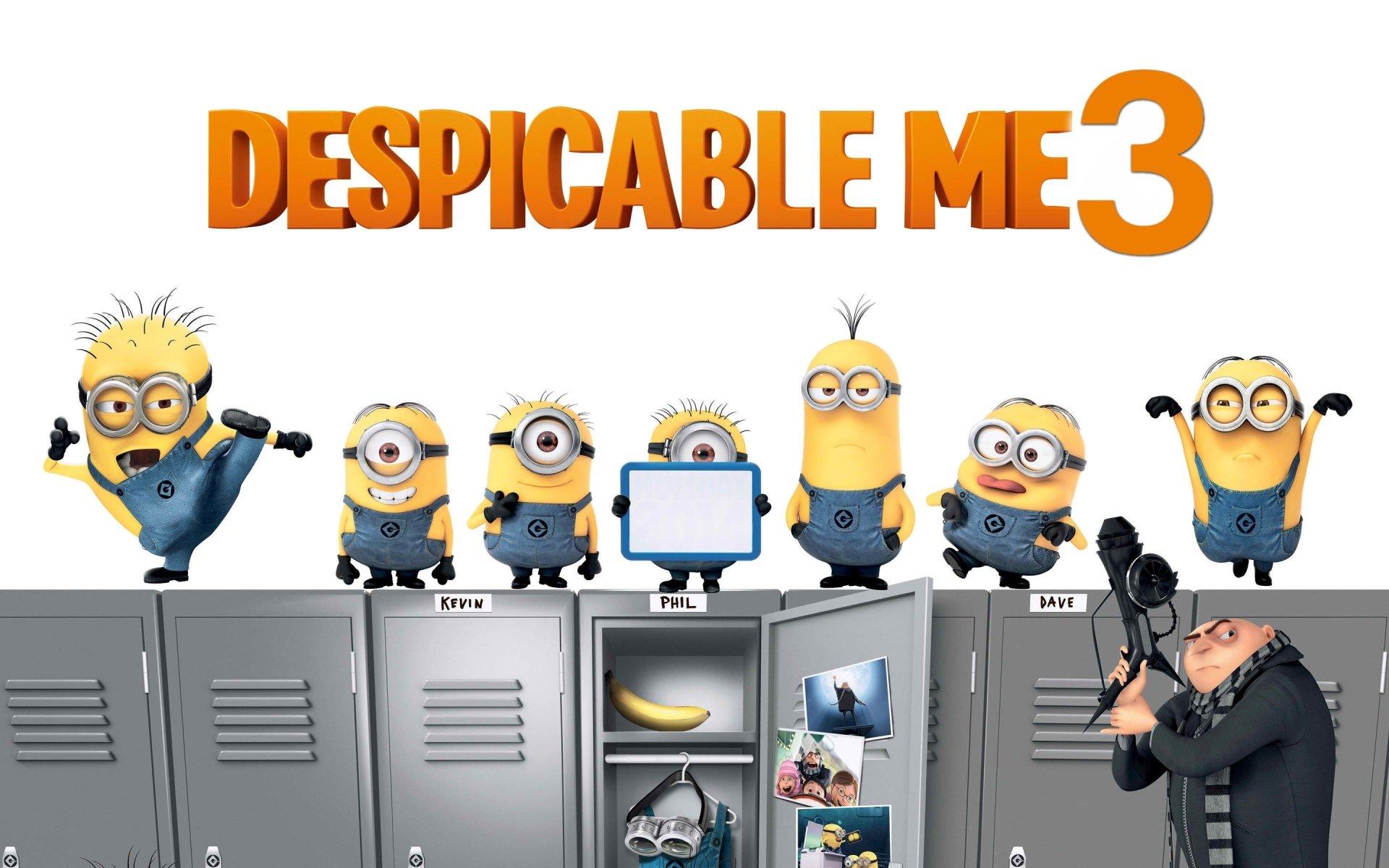 Movie - Despicable Me 3  Minions Gru (Despicable Me) Wallpaper