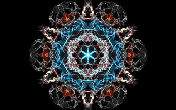 Abstract Generative Pattern Mandala Fractal Digital Art Artistic HD Wallpaper | Background Image