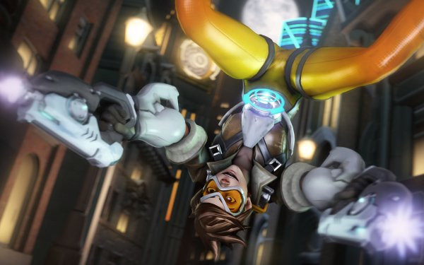 Video Game Overwatch Tracer HD Wallpaper   Background Image
