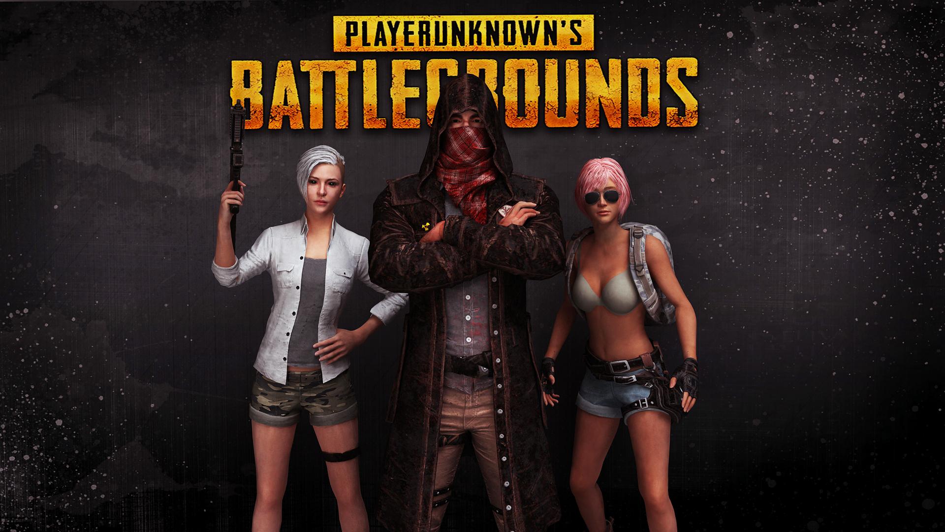 Wallpaper Player Unknown Battleground Pubg M4a4 Girls: PlayerUnknown's Battlegrounds HD Wallpaper