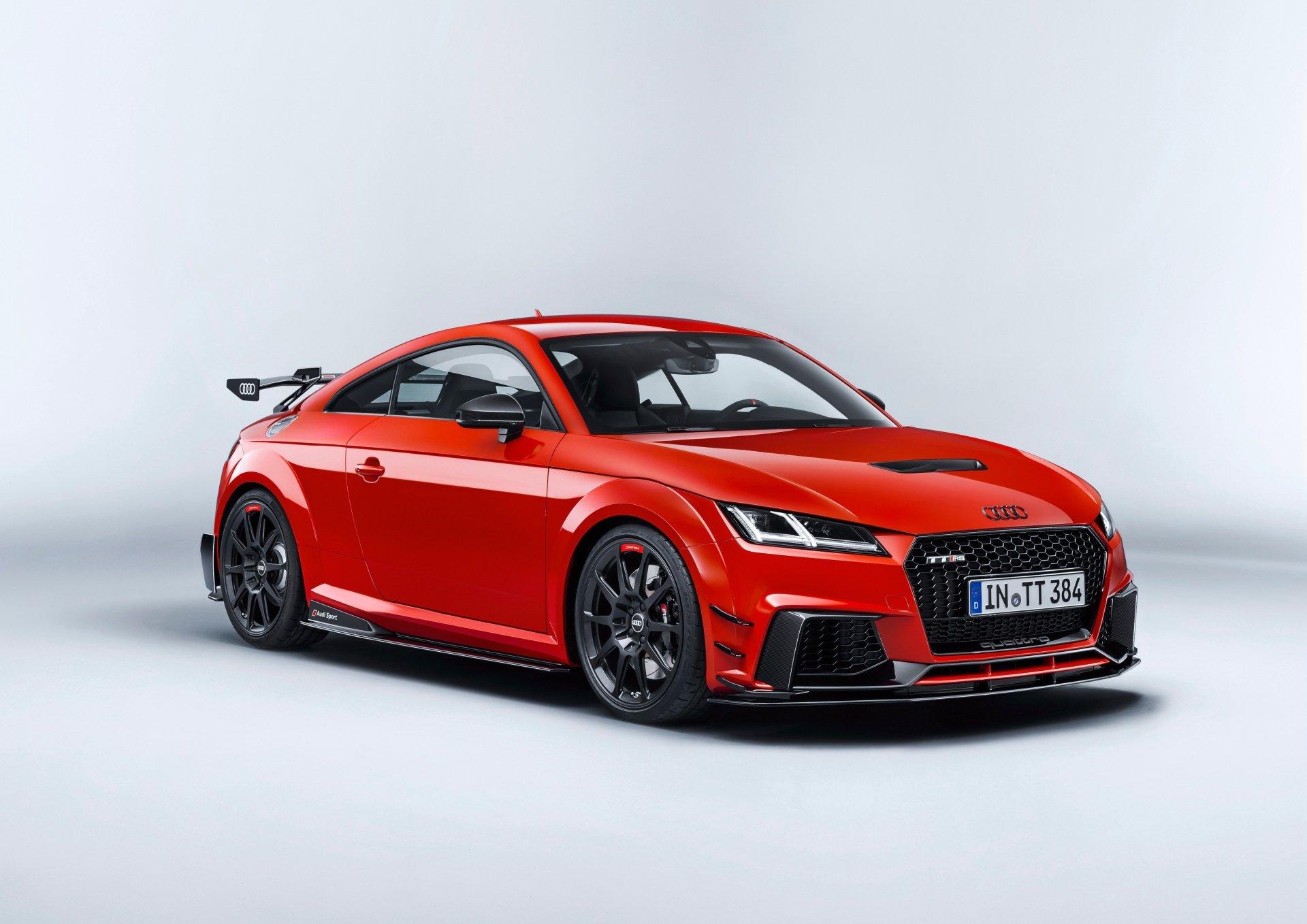 座驾 - 奥迪TT  奧迪 汽车 交通工具 Red Car Sport Car 壁纸