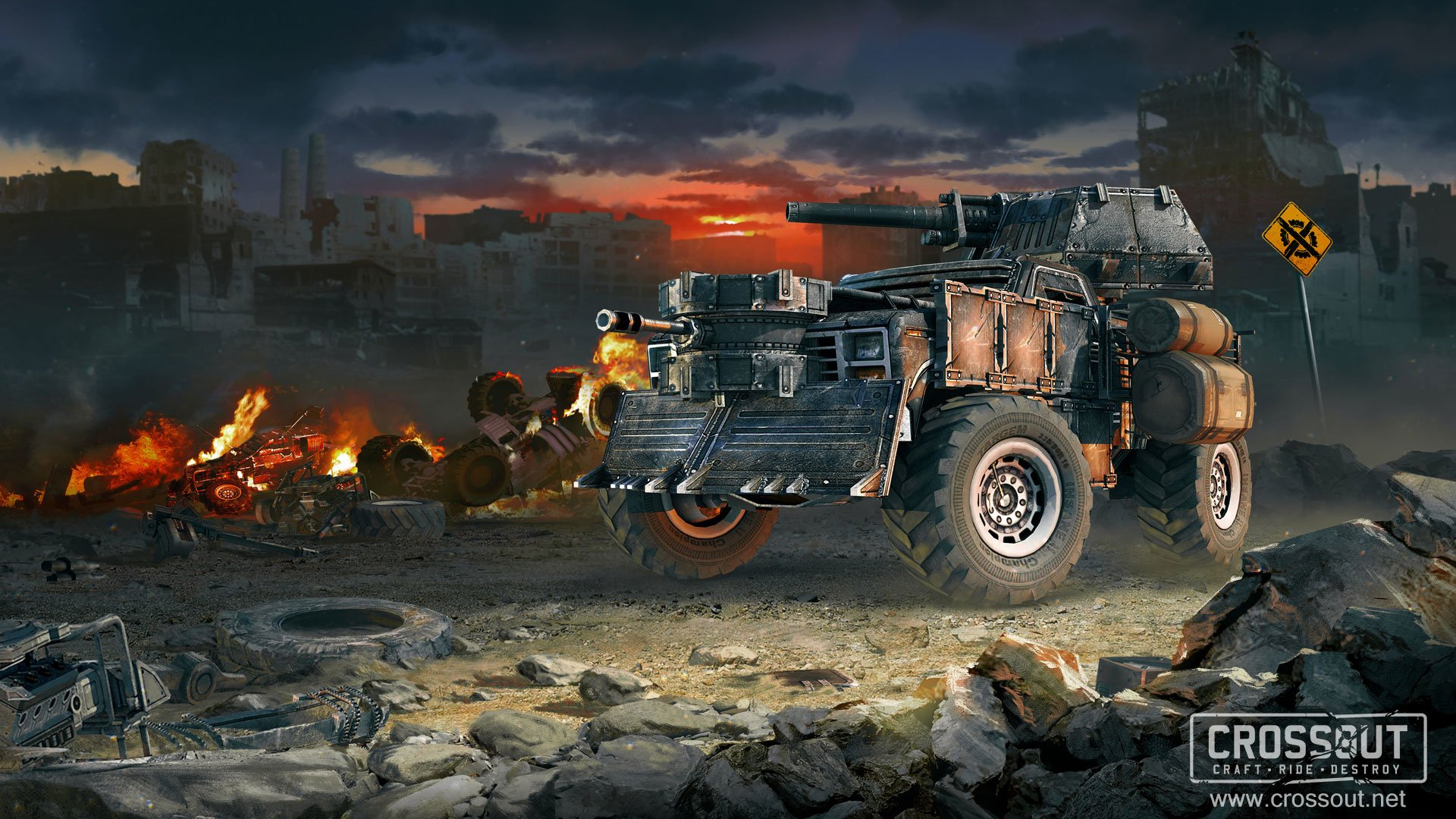 16 Crossout Hd Wallpapers Background Images Wallpaper Abyss