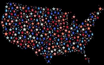 Map Of The Usa HD Wallpapers Backgrounds Wallpaper Abyss - Us map screensaver