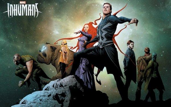 Series de Televisión Marvel's Inhumans Inhumans Marvel Comics Black Bolt Medusa Maximus Lockjaw Gorgon Karnak Crystal Fondo de pantalla HD | Fondo de Escritorio