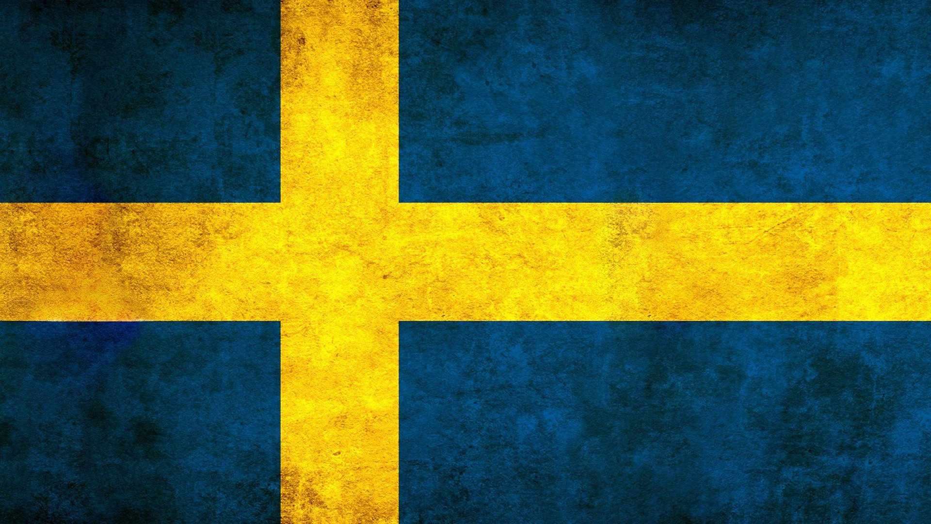 Flag Of Sweden Full HD Wallpaper And Background Image