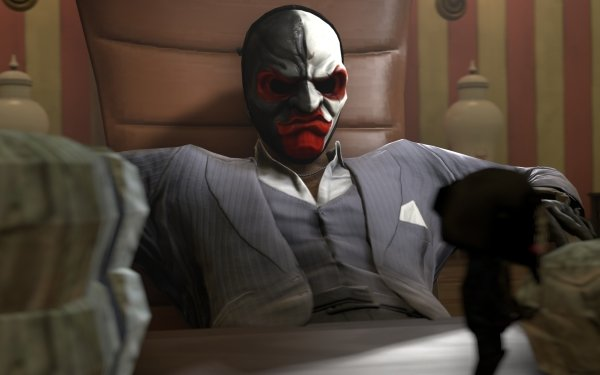 Video Game Payday 2 Payday Scarface HD Wallpaper | Background Image