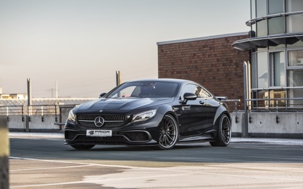 Vehicles Mercedes-Benz S-Class Coupe Mercedes-Benz Black Car Mercedes-Benz S-Class HD Wallpaper   Background Image
