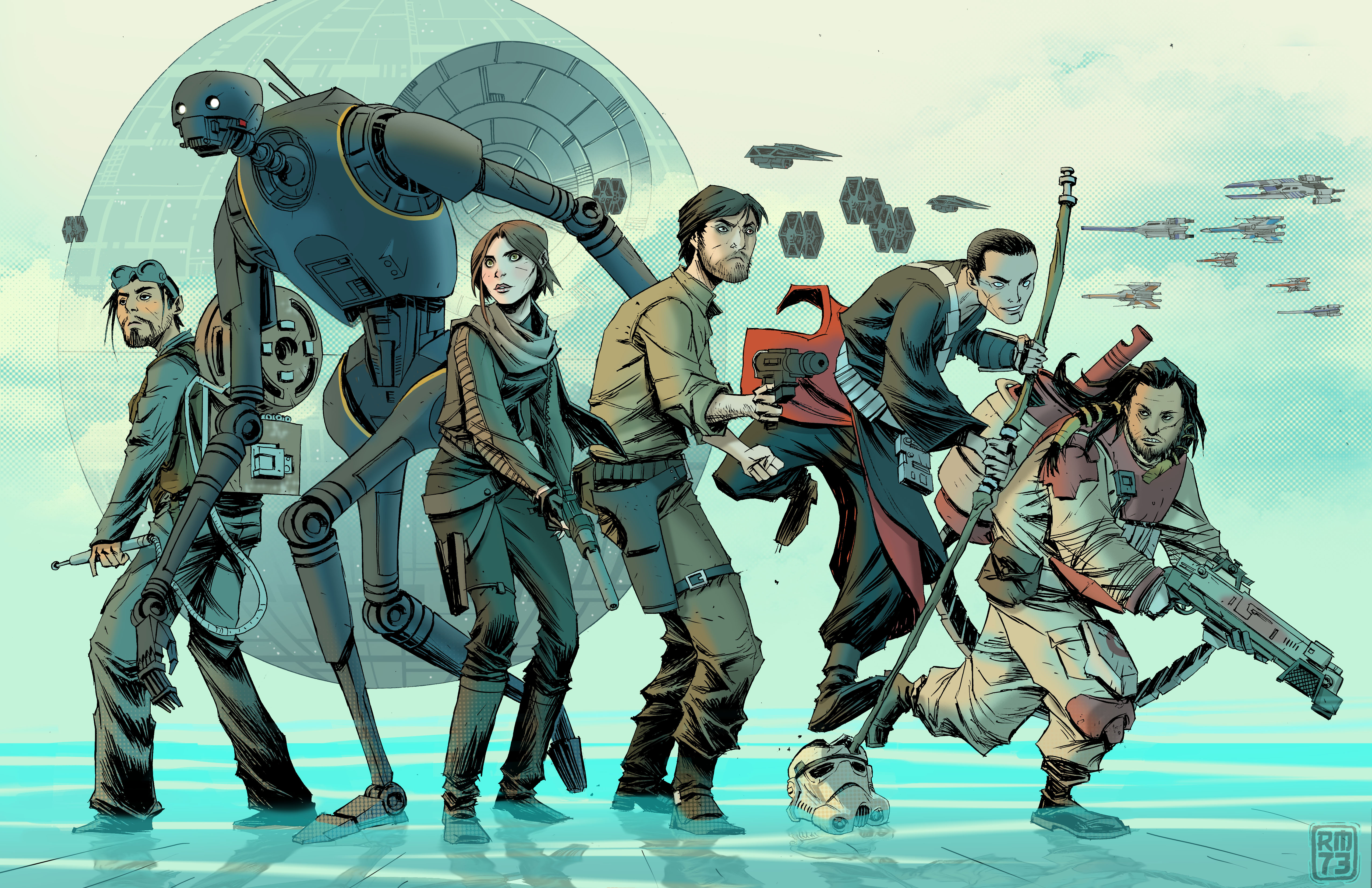 Rogue One A Star Wars Story 4k Ultra Hd Wallpaper Background Image 5100x3300 Id 859572 Wallpaper Abyss