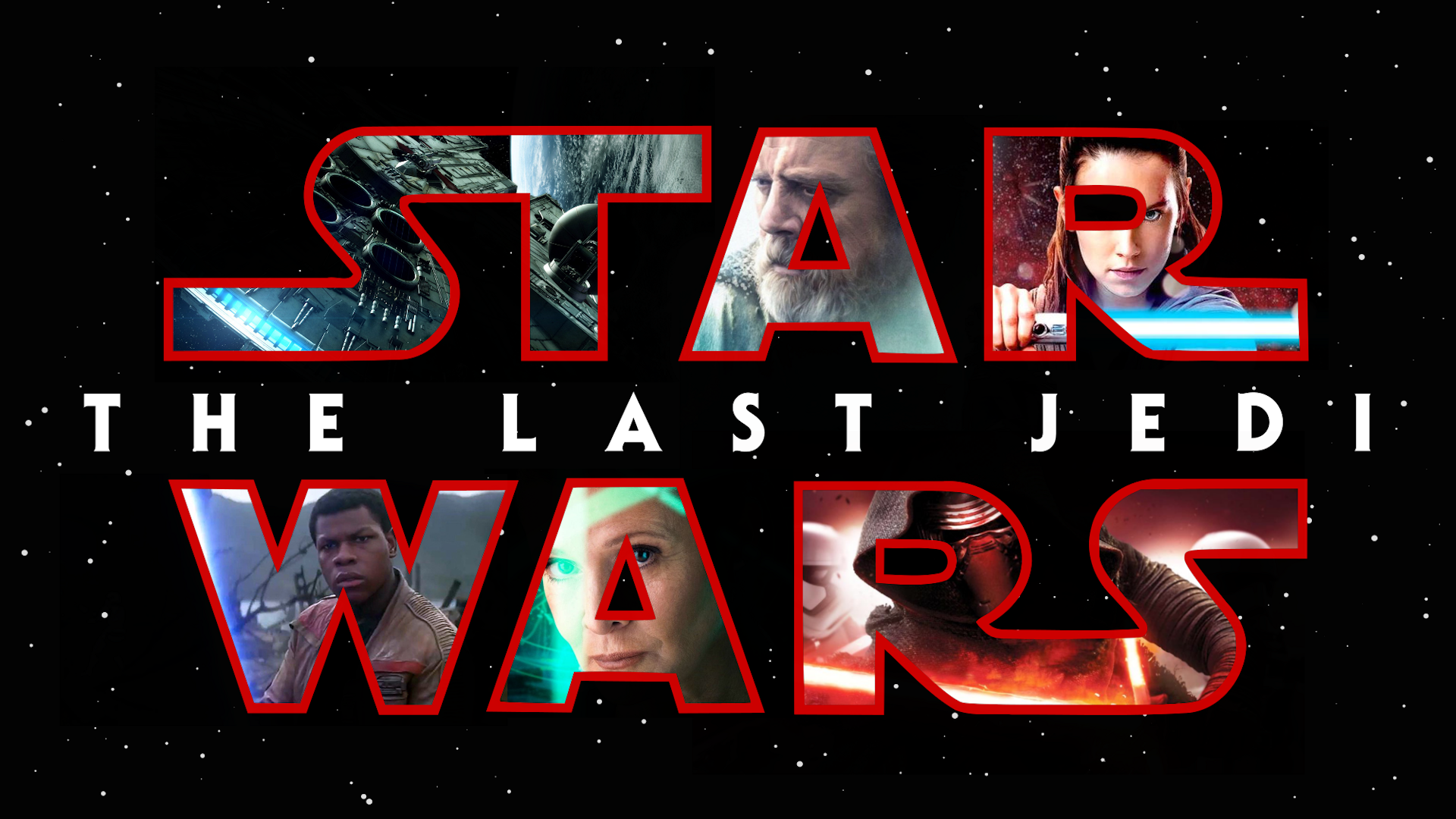 Start Wars The Last Jedi HD Wallpaper