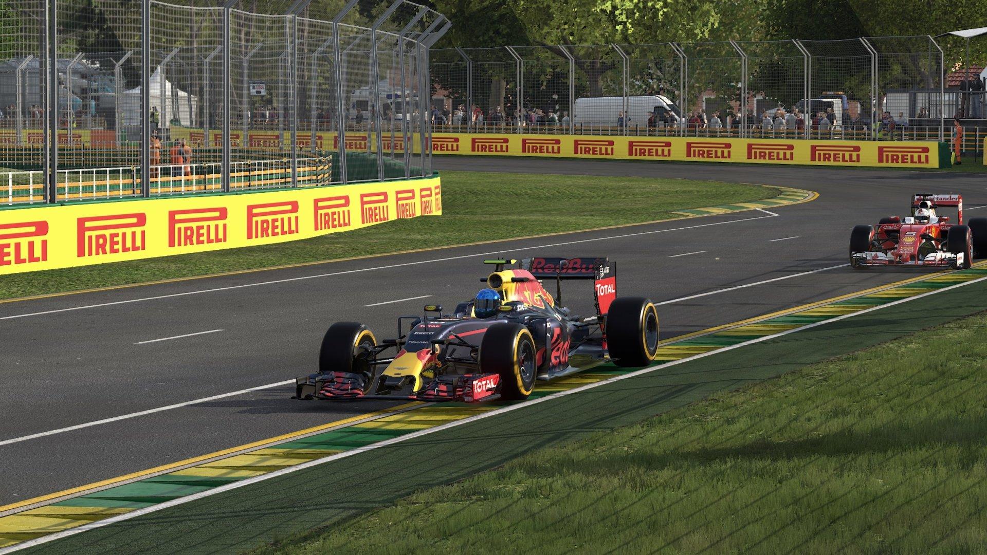 Video Game - F1 2016  Formula 1 Wallpaper