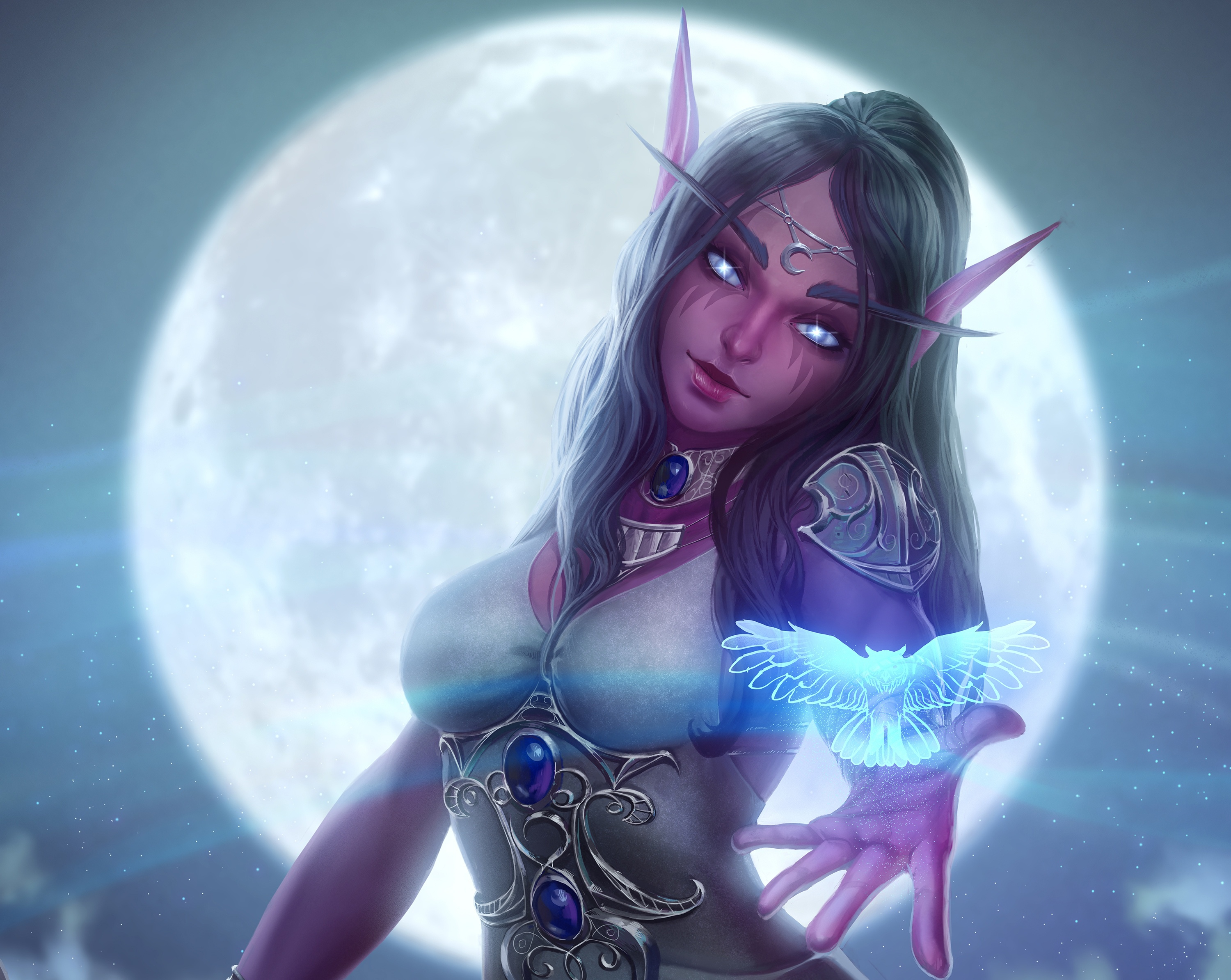 10 Tyrande Whisperwind HD Wallpapers
