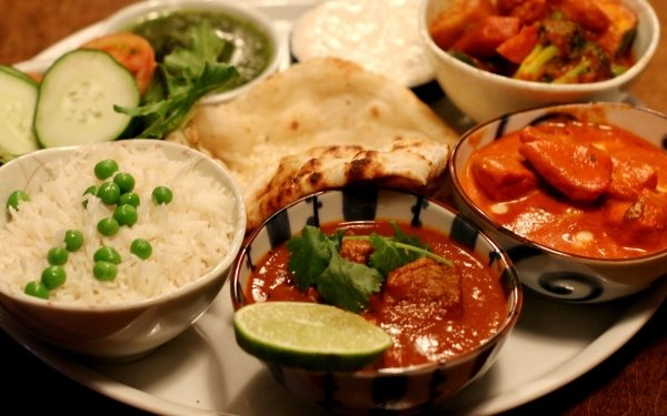 Food Indian Food Meal HD Wallpaper   Background Image