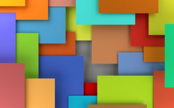 Abstract Colors Colorful Geometry Rectangle HD Wallpaper | Background Image