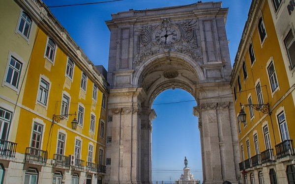Man Made Monument Monuments Lisbon HD Wallpaper   Background Image