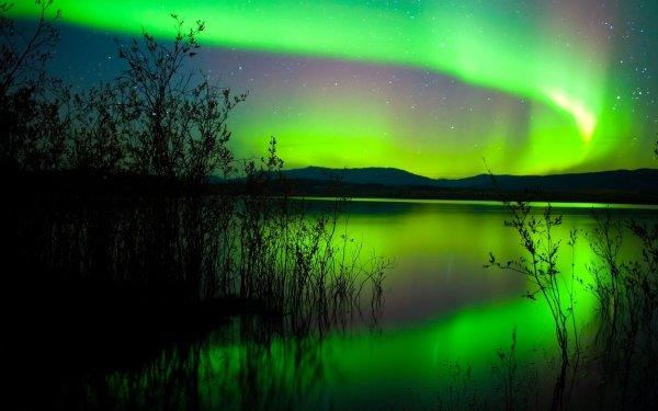 Earth Aurora Borealis HD Wallpaper | Background Image