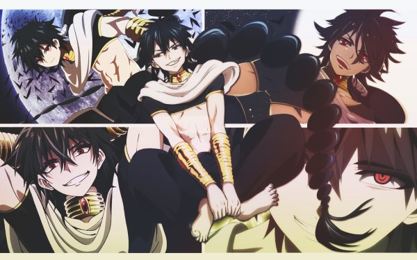 Anime Magi: The Labyrinth Of Magic Judar HD Wallpaper | Background Image