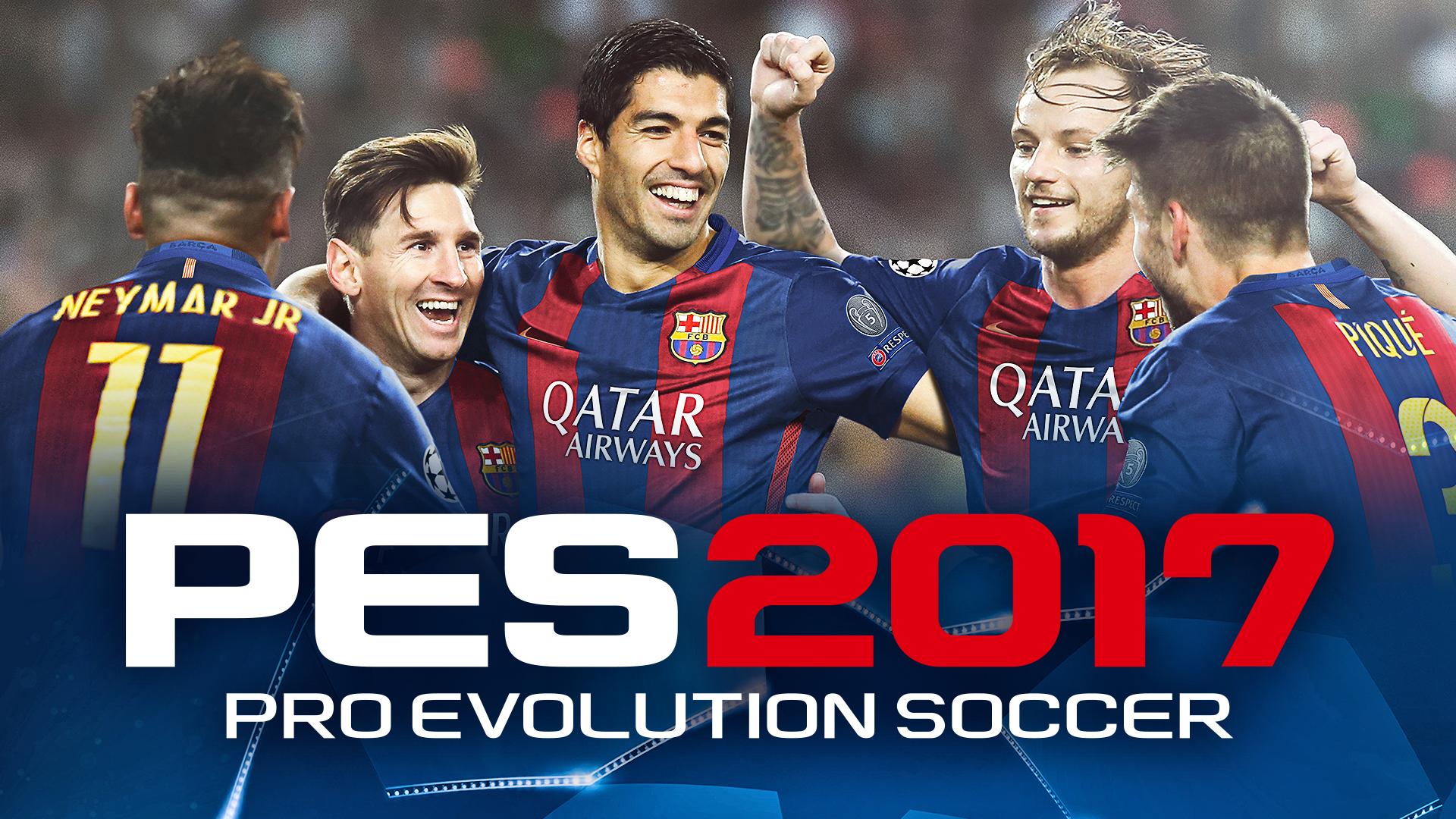Pro evolution soccer 2017 full hd wallpaper and background image video game pro evolution soccer 2017 wallpaper voltagebd Choice Image