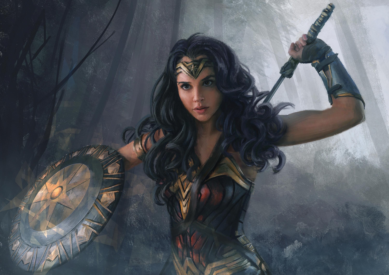 Wonder Woman Movie Wallpaper 1: Wonder Woman HD Wallpaper