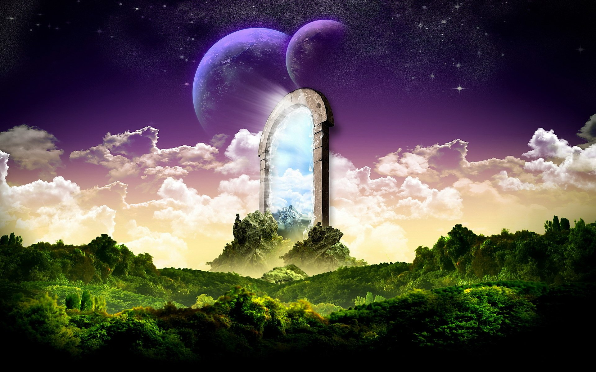 165 A Dreamy World Hd Wallpapers Background Images