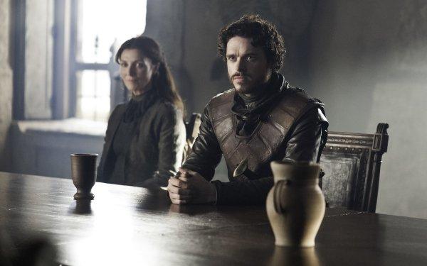 TV Show Game Of Thrones Robb Stark Michelle Fairley Catelyn Stark Richard Madden HD Wallpaper   Background Image