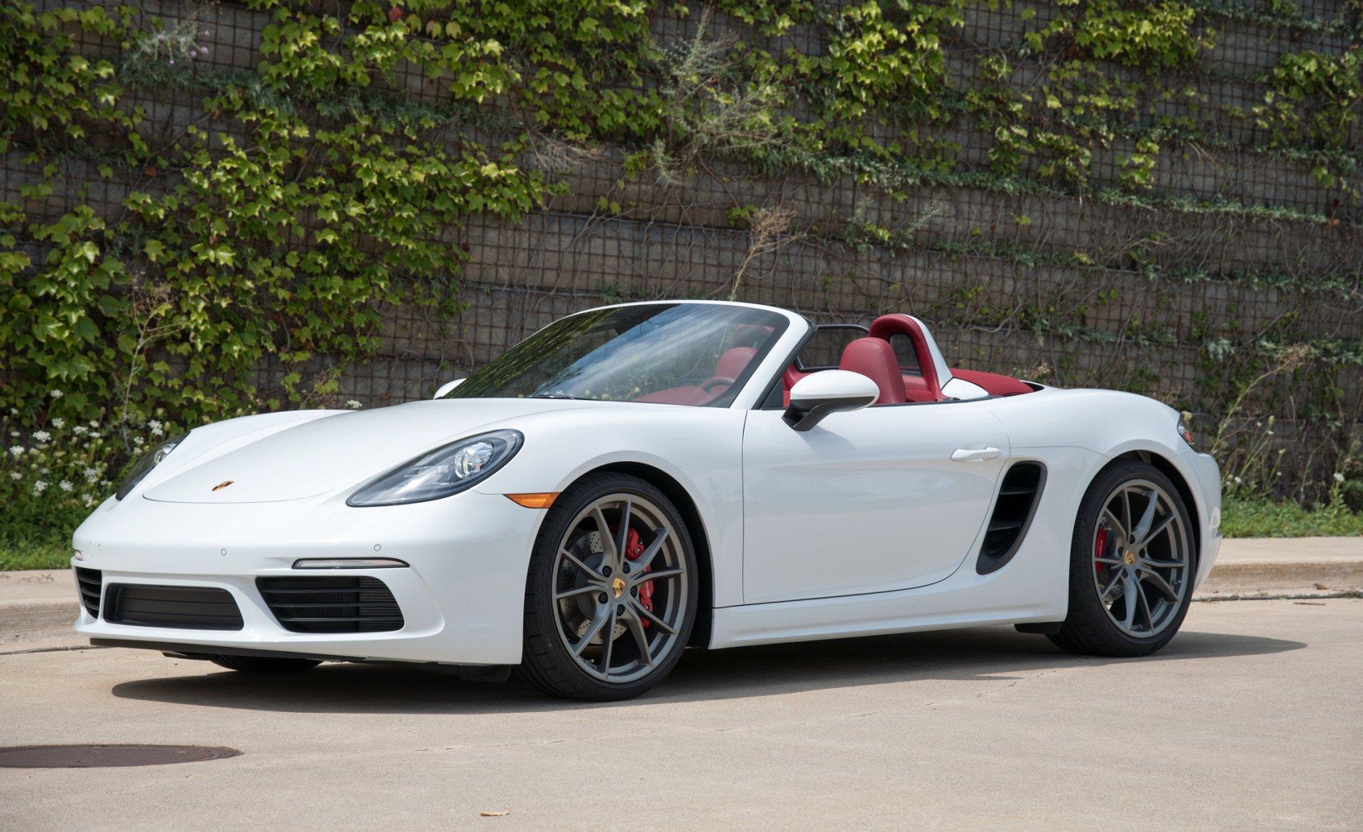 Vehicles - Porsche 911  Porsche Car Vehicle White Car Sport Car Convertible Wallpaper