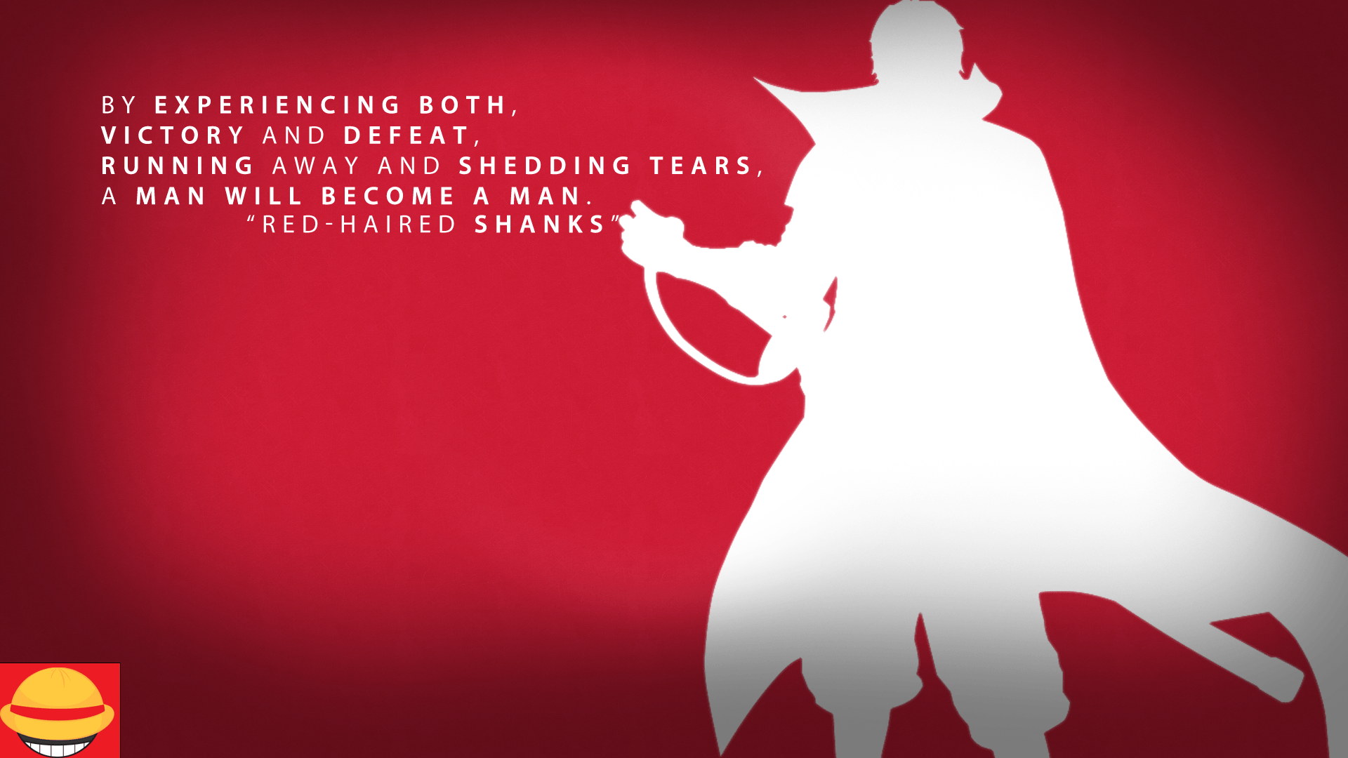 Red Haired Shanks Quote Hd Wallpaper Hintergrund 1920x1080 Id