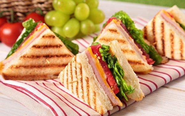 Alimento Sándwich Toast Fondo de pantalla HD | Fondo de Escritorio