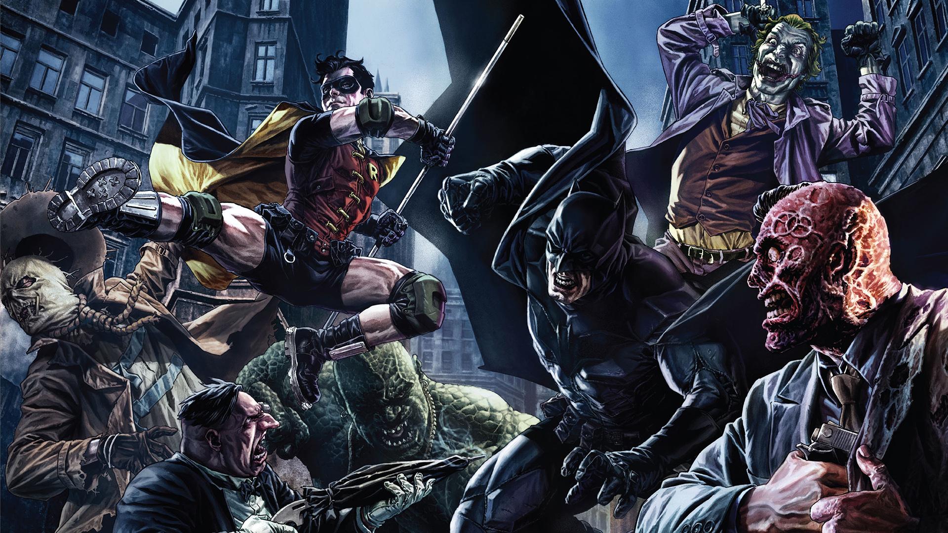 Batman And Robin Fondo De Pantalla HD