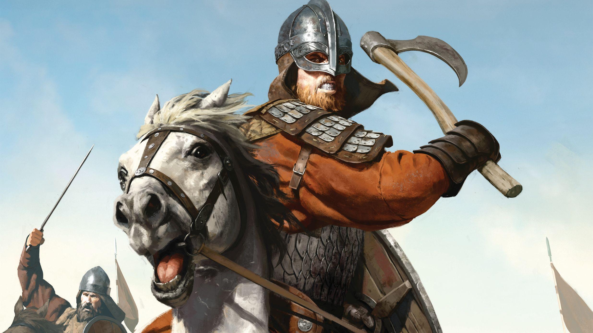 Viking Cavalry Hd Wallpaper Background Image 2471x1390 Id