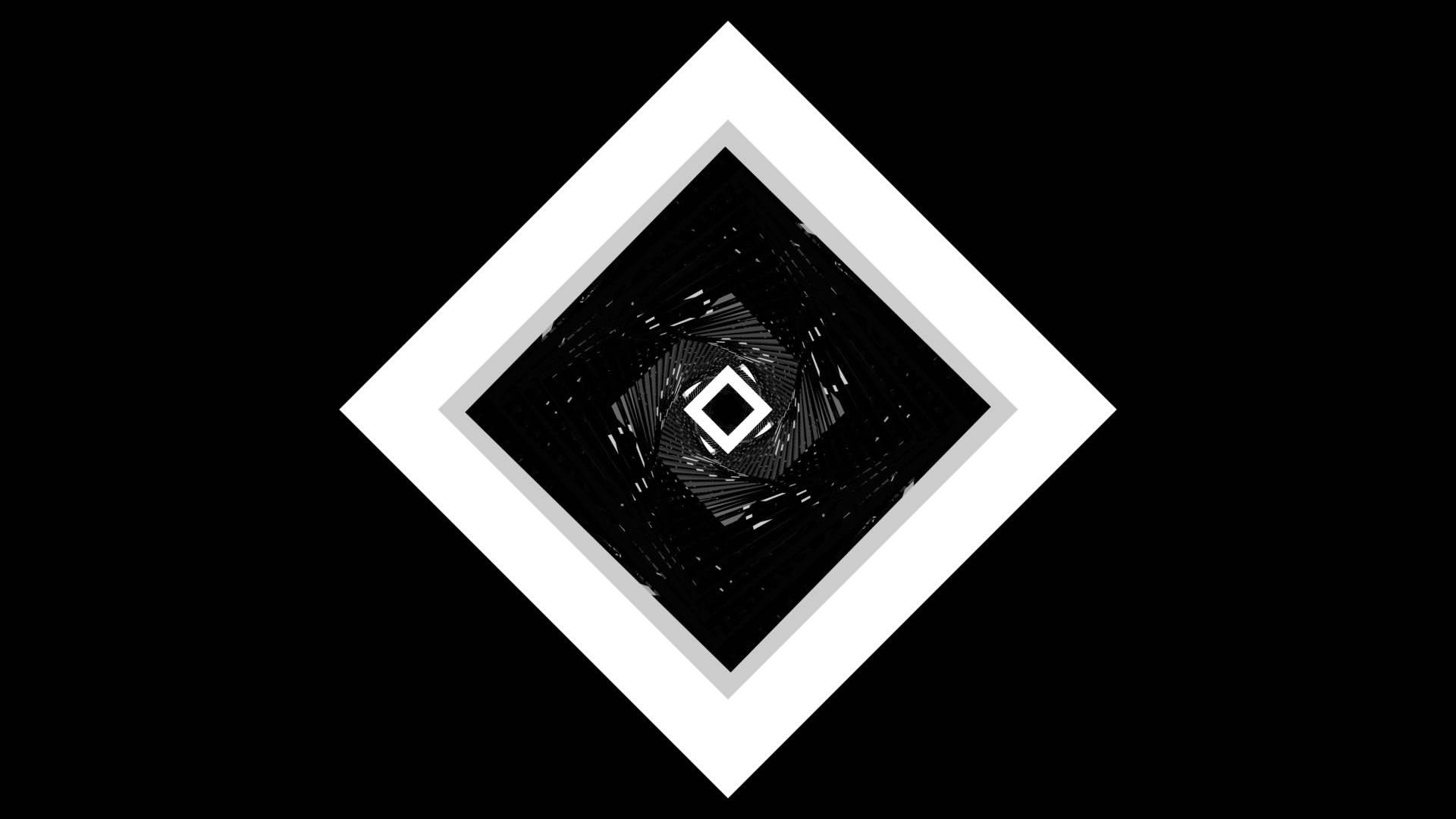 Abstract - Square  Black & White Wallpaper