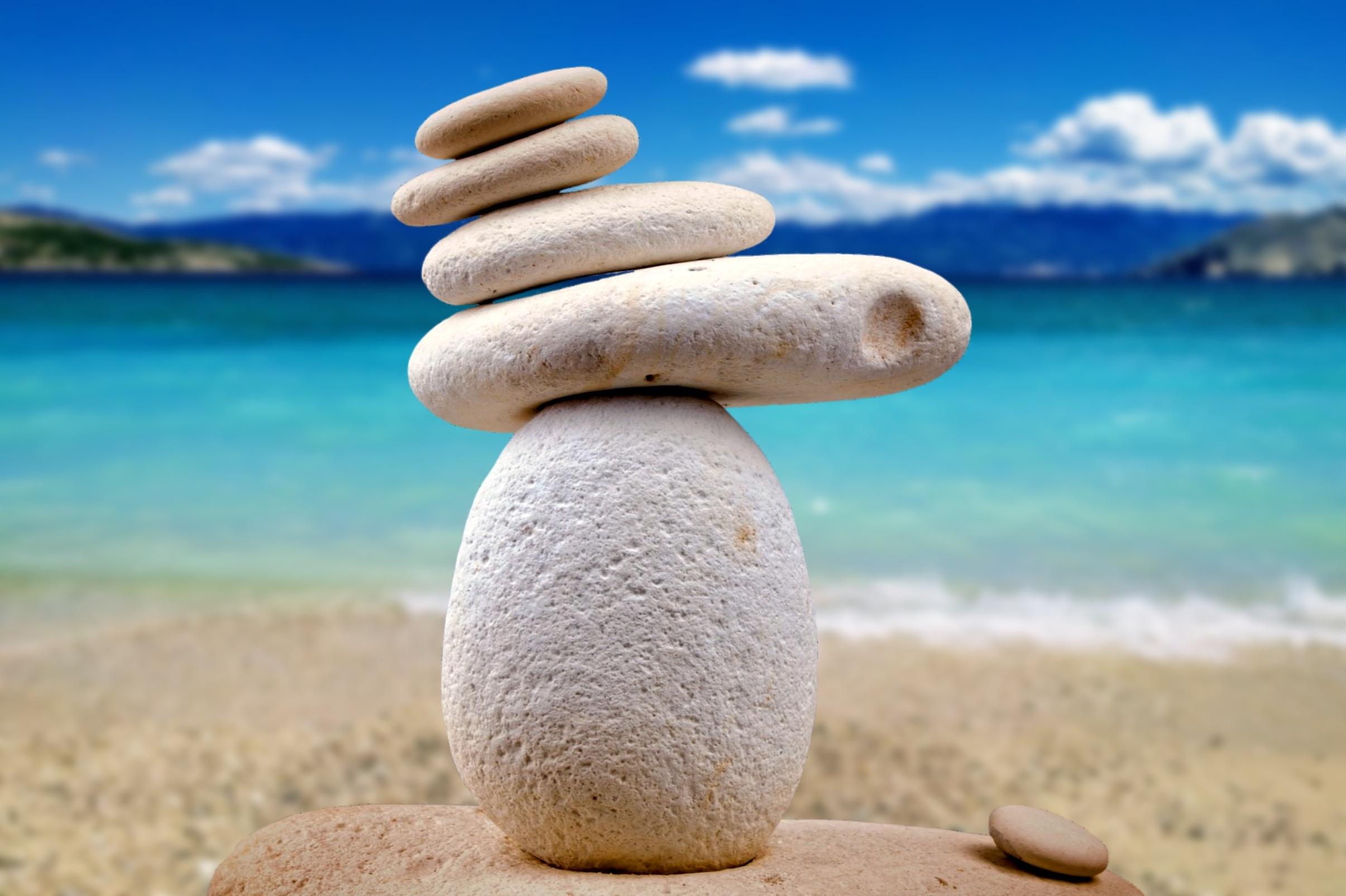 Balancing Zen Stones Fond d'écran HD | Arrière-Plan | 2411x1605 | ID:873417 - Wallpaper Abyss