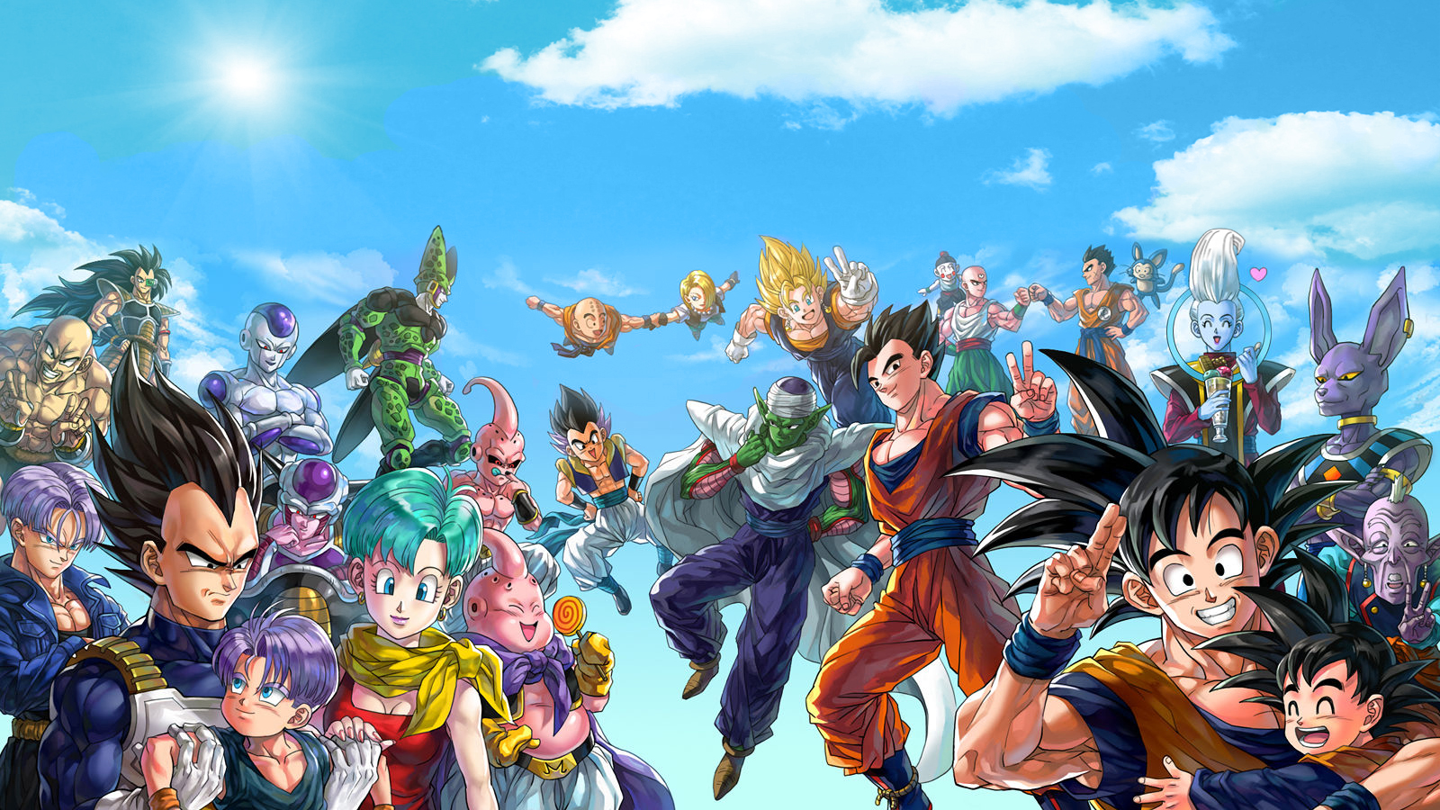 Dragon Ball Z Wallpaper and Background Image | 1600x900 | ID:873595 - Wallpaper Abyss