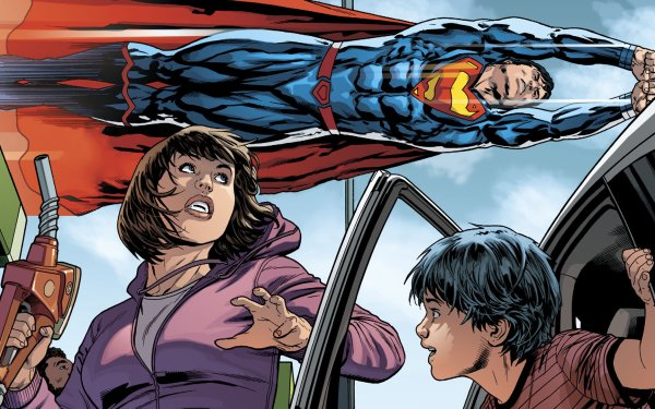 Comics Superman DC Comics Superhero Lois Lane Jon Kent HD Wallpaper   Background Image